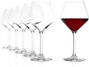 Stölzle Lausitz Verres à vin de Bourgogne